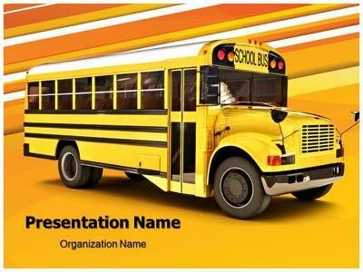 19 best back to school powerpoint templates images on pinterest download our professional looking ppt template on school bus and make a toneelgroepblik Images