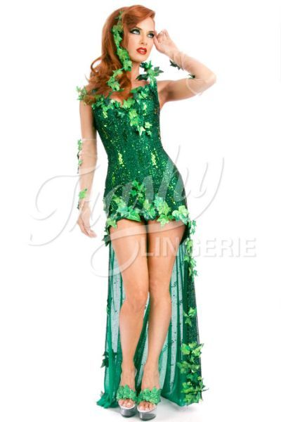 Poison Ivy Costume from Trashy