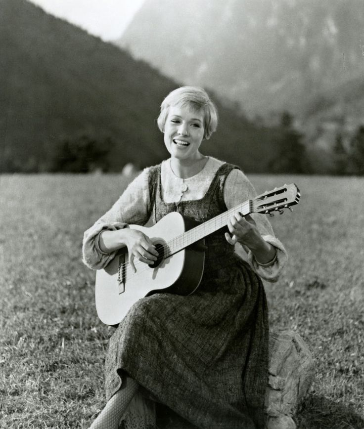 Julie Andrews - La Mélodie du bonheur (The Sound of Music), 1965.