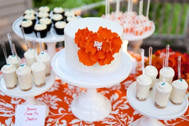 Petite Dessert Bar for Vow Renewal