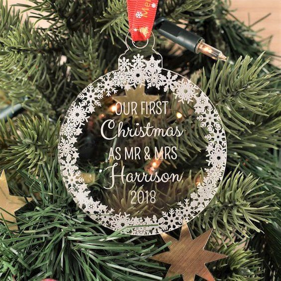 Over 100 Handmade Holiday Gift Ideas Personalised Christmas Tree Decorations Handmade Holiday Gifts Personalised Christmas Baubles