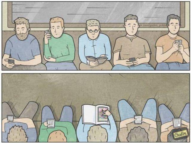 14 Sarcásticas ilustraciones acerca de este mundo