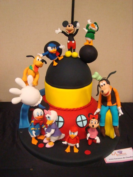 Characters Cake