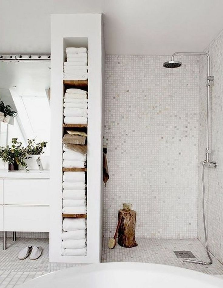 45+ atemberaubende skandinavische Badezimmerideen, die Sie total lieben werden ...