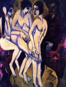Urteil des Paris - Ernst Ludwig Kirchner - The Athenaeum