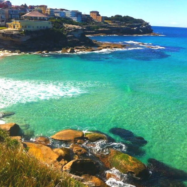 Tamarama beach mid winter. Water is soo clean and bright blue green. #beach #lifestyle picture