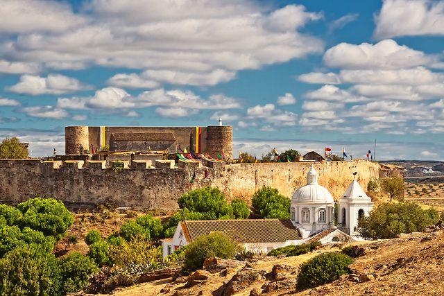 Castro Marim´s Castle, East Algarve, Portugal