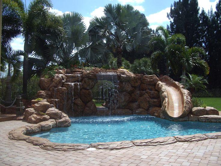 Pool Waterfall Pool Waterfall Tiki Huts For Sale