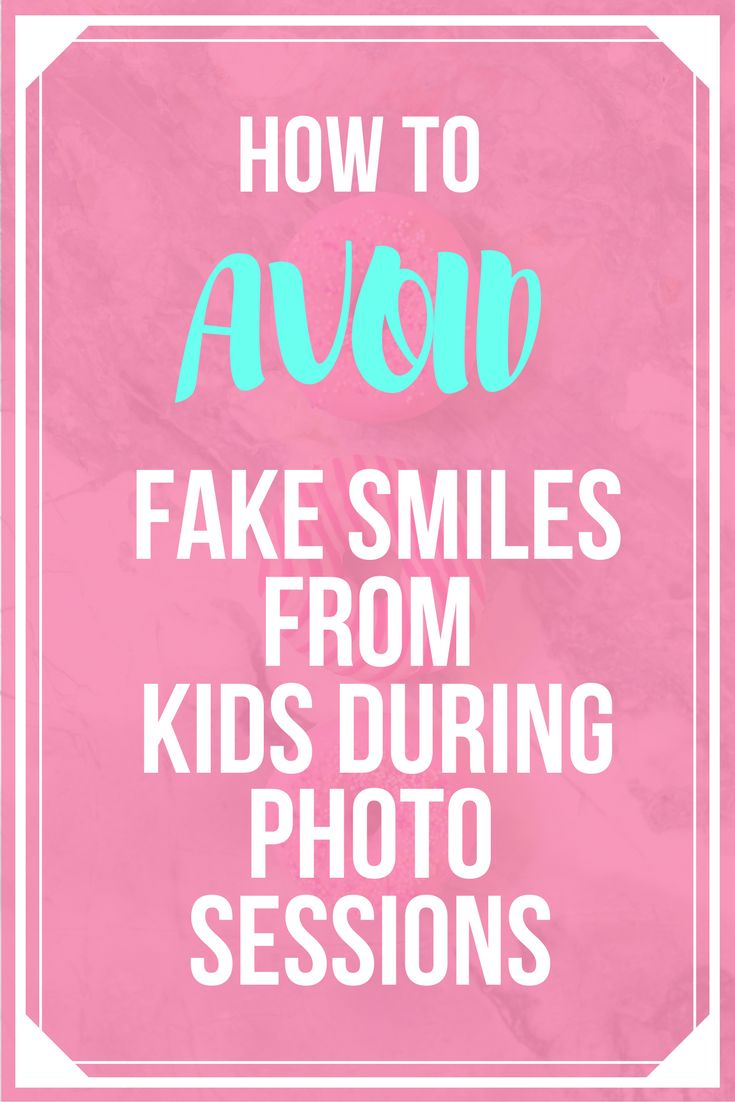 Kids will always act silly infront of the camera. Click here to learn how to get that genuine smile.