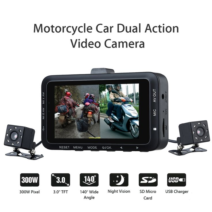 "Motorcycle Car Mounted Biker Action Video Camera DVR Front Back 3.0"" LCD DV168 Night Vision 140 Degree Wide Angle   Tag a friend who would love this!   FREE Shipping Worldwide   Buy one here---> https://highnoonmarket.fun/motorcycle-car-mounted-biker-action-video-camera-dvr-front-back-3-0-lcd-dv168-night-vision-140-degree-wide-angle/"