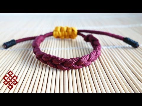 Adjustable Paracord Rastaclat Shoelace Bracelet Tutorial - YouTube