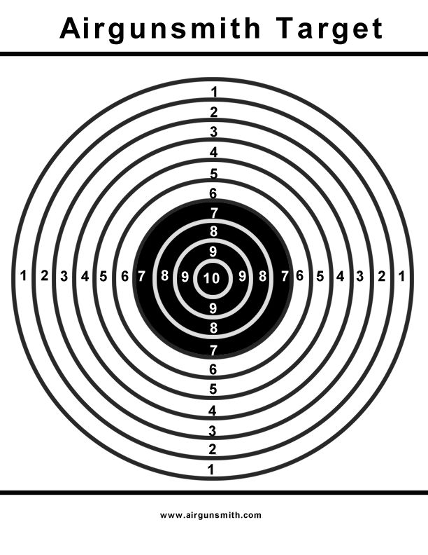It is a picture of Astounding Printable Pistol Targets 8.5 X 11