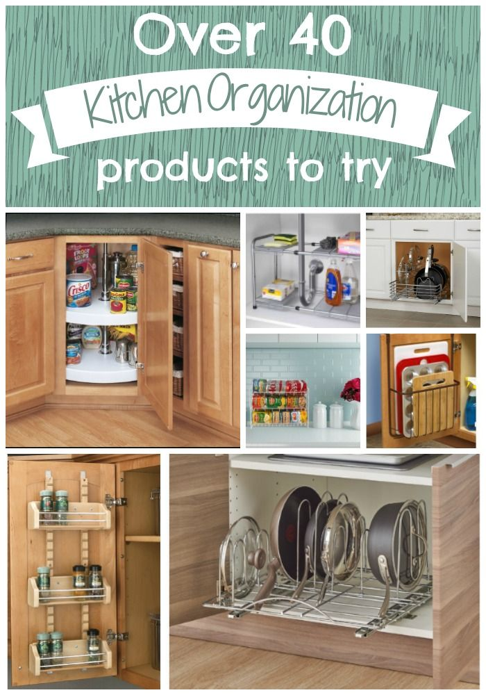 Over 40 Kitchen Organization products you should try for a ...