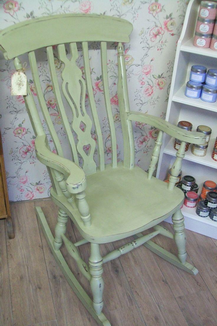 Windsor Rocking Chair in Versailles Chalk Paint™
