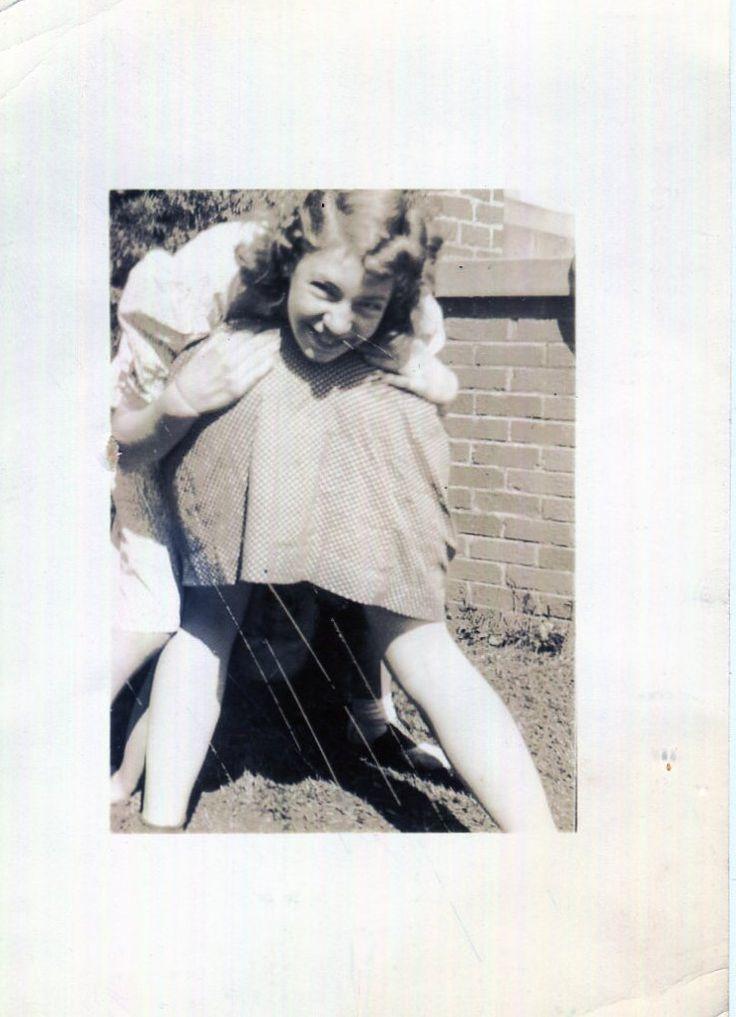 Vintage Photo..The Fanny Photo 1930's, Original Photo, Old Photo Snapshot, Vernacular Photography, American Social History…