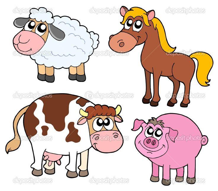 ... animals cartoon vector cartoon farm cute cartoon animals farm animals