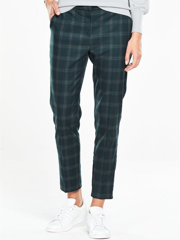 Oasis Oasis Check Slim Leg Trouser, http://www.very.co.uk/oasis-oasis-check-slim-leg-trouser/1600101686.prd