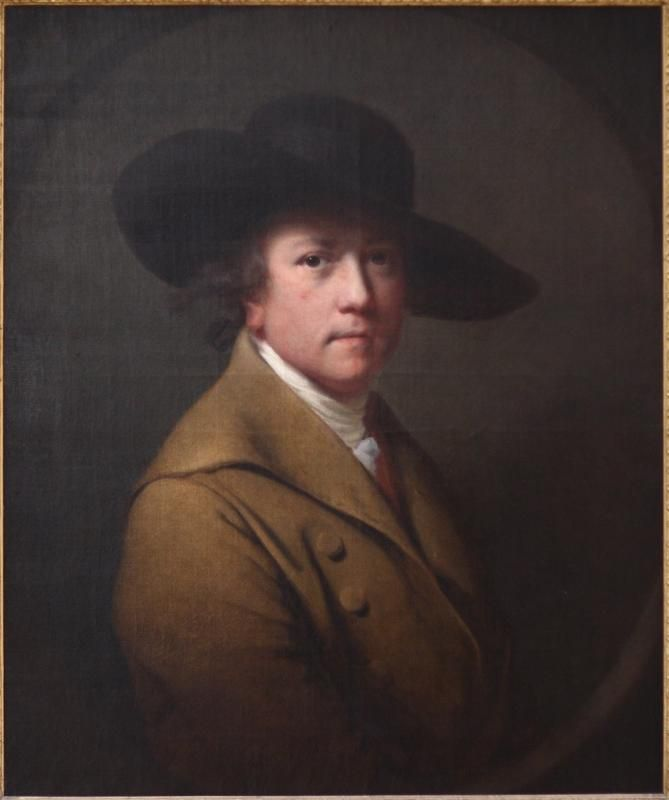 Joseph Wright of Derby Self Portrait - Joseph Wright of Derby