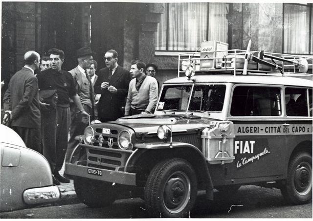 Anno 1951: Fiat Campagnola 1101