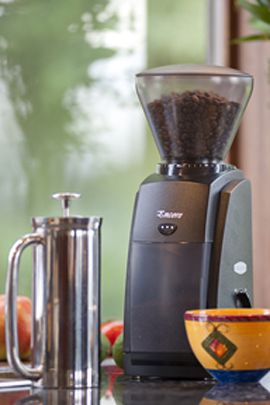 Baratza Encore coffee grinder. Fresh ground coffee is mine!