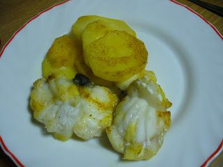 Le ricette di Elisina: Coda di rospo al cartoccio con patate e curry