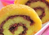 Rolade Lemper Kuning Daging Cincang | Sukamasak - Aneka Resep Makanan | Resep Masakan Indonesia | Berbagi Aneka Resep Favorit Anda