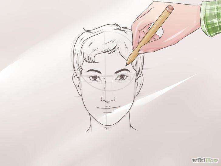 3 Cara Mudah Menggambar Wajah Manusia Beserta Contohnya Menggambar Wajah Gambar Potret Wajah