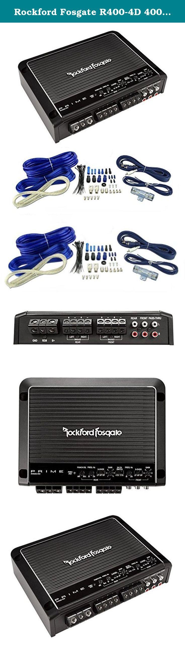 17 beste ideer om car audio amplifier på rockford fosgate r400 4d 400w 4 channel car audio amplifier 4 gauge amp kit