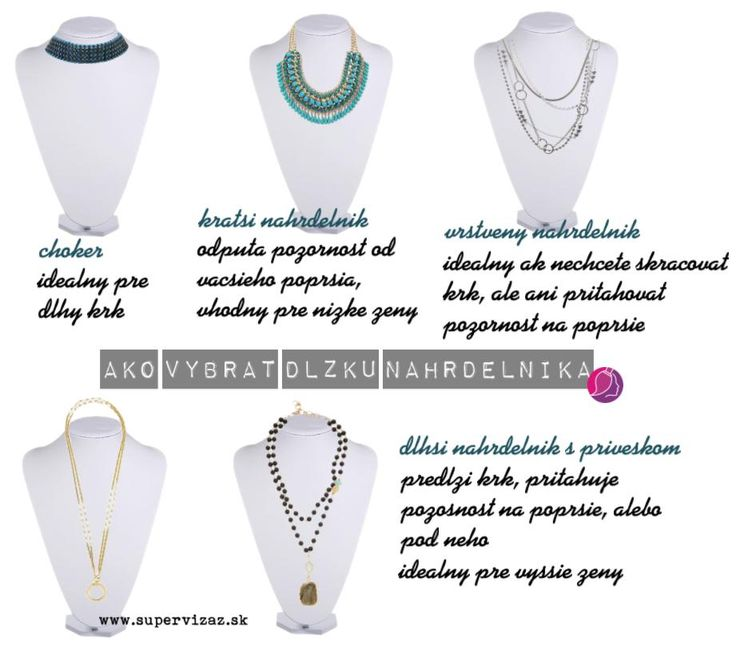 Ako vybrať vhodnú dĺžku náhrdelníka - Supervizáž
