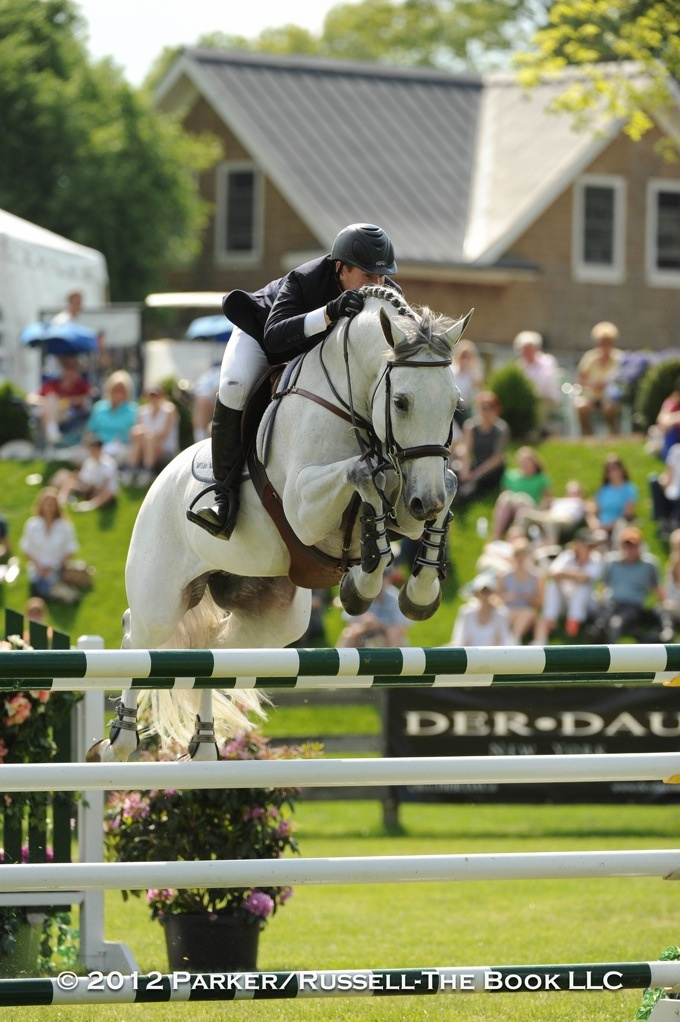 Mclain Ward returns from injury to win the Old Salem Farm Grand Prix with Antares F!