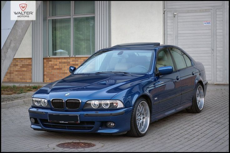 BMW E39 540i V8 Manual, Polift, M-Pakiet