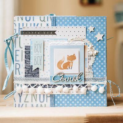Дневник скрапоголика...: Альбом для новорожденного