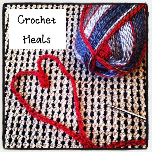 Crochet helps to heal you emotionally and physically!