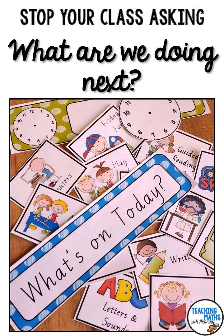 Stop Your Class From Asking What Are We Doing Today Or What Time Is Pe With These Easy To Read S Fun Classroom Activities Classroom Schedule Schedule Cards