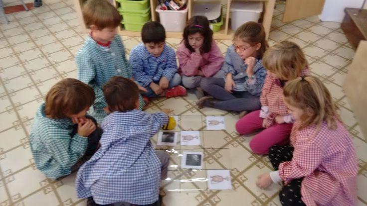 Robòtica a educació infantil i primer de primària. Escola Santa Anna (Barcelona)