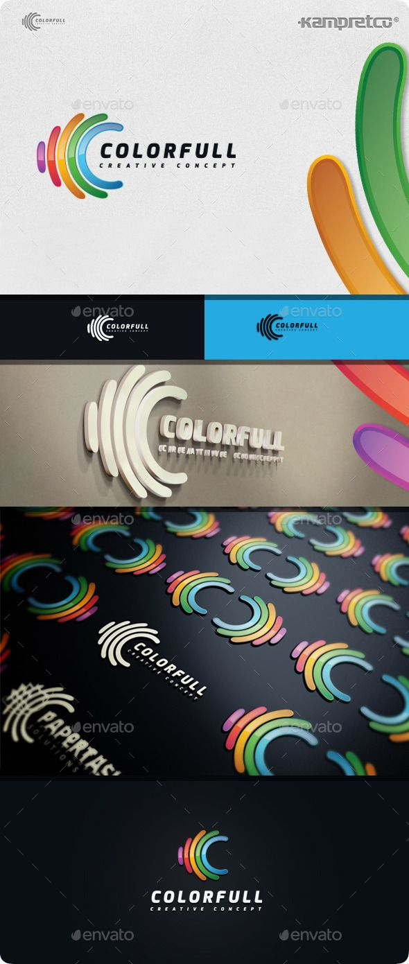 Colorfull Concept Logo - 3d Abstract