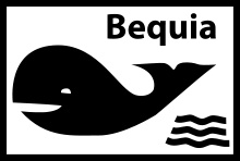 Flag of Bequia! (Its in the Grenadines for those of you who don't know.)