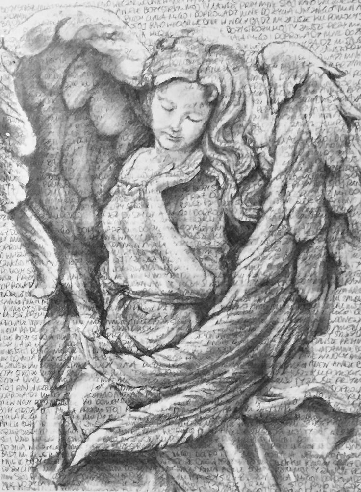 Myworldbybella.com  Guardian Angel with Polish prayer in the background.