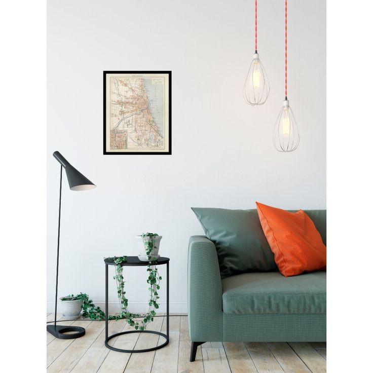 Chicago: Antique Wall Map - handmade paper print. Elegant office decor, restaurant interior decor. #map, #framed #antique, #vintage, #old, #poster, #historical,  #karte, #carte, #chicago, #america, #usa #handmadepaper,  #reproduction, #reproduktion, #vintagecarte,  #vintagedecor, #antiquedecor, #pubdecor #restaurant, #pub, #livingroom #hallway #decor, #hoteldecor, #office, #officedecor, #vintage, #antique, #traveldecor #walldecor, #mapgifts