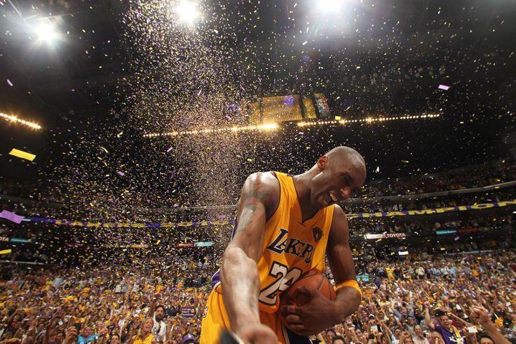 Kobe Bryant #24 of the Los Angeles Lakers celebrates after winning over the Boston Celtics in Game Seven of the 2010 NBA Finals on June 17, 2010 at Staples Center in Los Angeles, California. http://l2.yimg.com/ny/api/res/1.2/tyx3XugDh2pSZ4FZVnOhRQ--/YXBwaWQ9aGlnaGxhbmRlcjtzbT0xO3c9MTI4MDtoPTk2MA--/http://l.yimg.com/os/publish-images/sports/2016-04-13/7cd150f0-019b-11e6-b82e-233ec961cddd_GettyImages-102186435_master.jpg