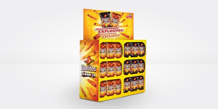Doritos® Dinamita® Campaign POP Design  #product #flavor #packaging #food #design