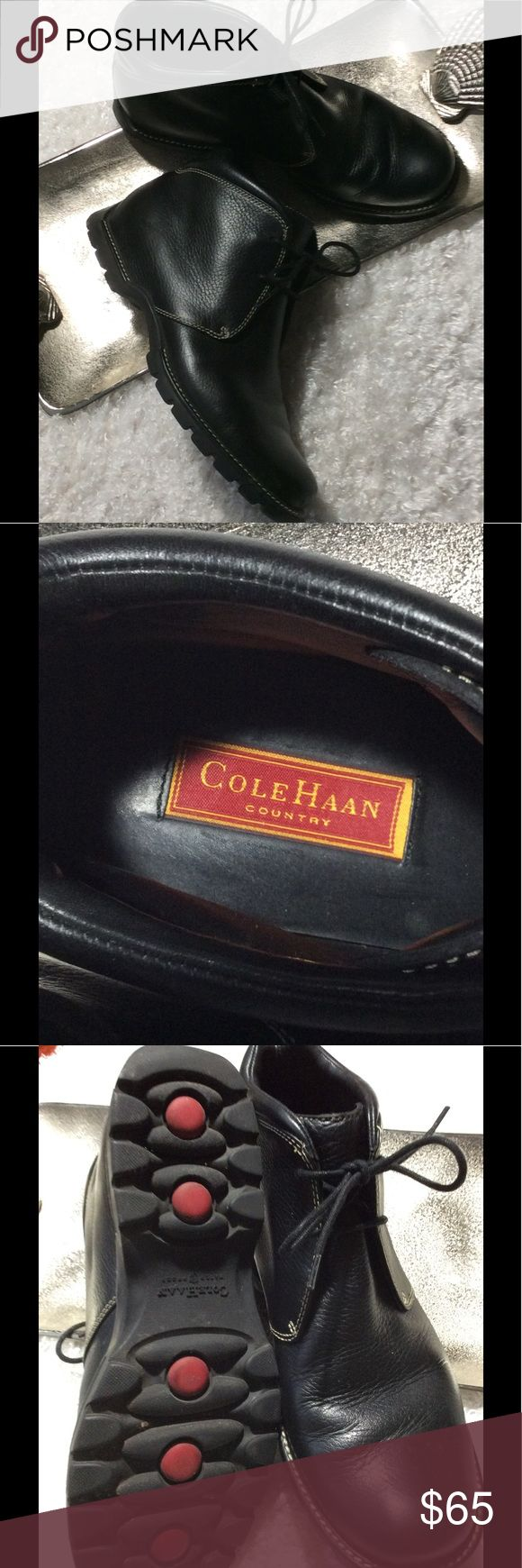 Cole Haan Country Ankle Boots Cole Haan Black Waterproof Ankle Boots. Cole Haan Shoes Boots