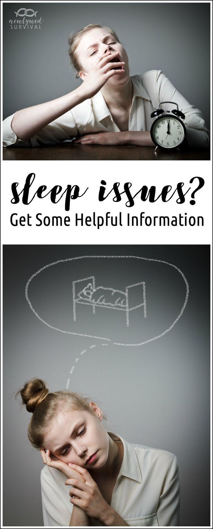 Great resources here!! - Having Sleep Issues? Get Some Helpful Information #BeyondTired via @newlywedsurvive