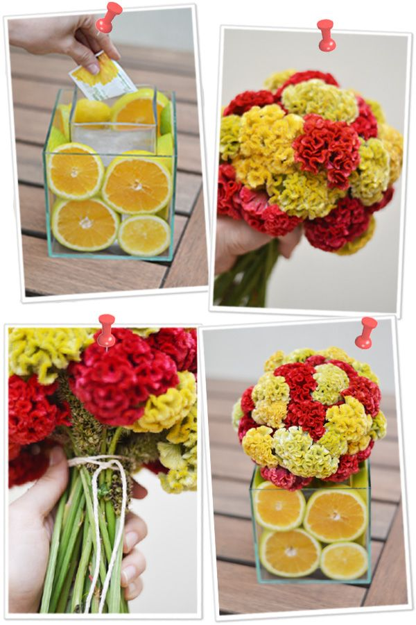Arranjo Floral | Flores + Frutas