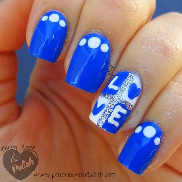 Blue Polish Nail Spa: 25+ Best Ideas About Royal Blue Nails On Pinterest
