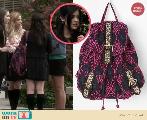 Pretty Little Liars Backpack June 2017