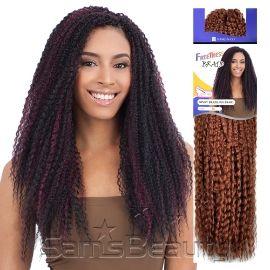 freetress synthetic hair crochet braids kinky brazilian