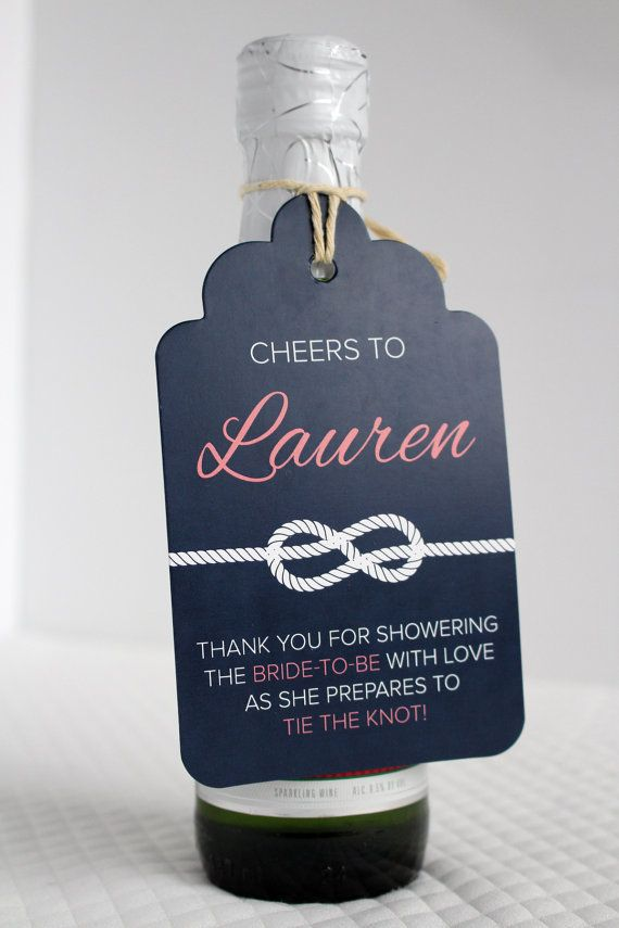 Cheers to Tying the Knot Mini Champagne