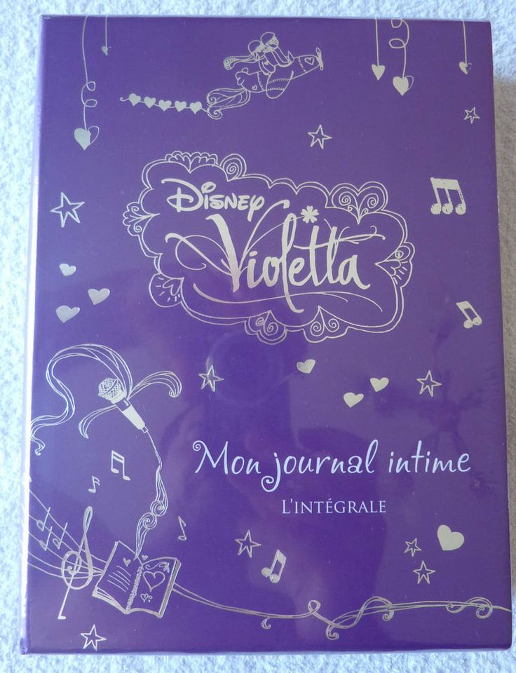 Coffret Violetta Mon journal intime L'integrale Disney neuf