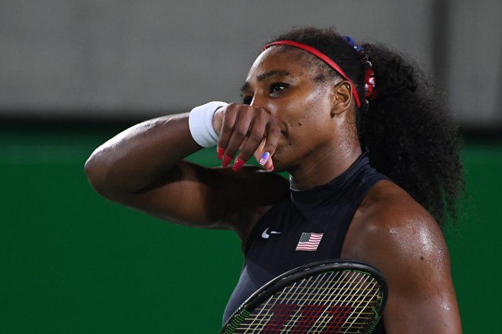 Pin for Later: Die Olympioniken haben die Nägel schön Serena Williams, Tennis, USA